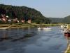 Lodní doprava v Bad Schandau