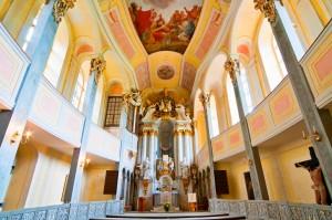 Kaple hradu Weesenstein