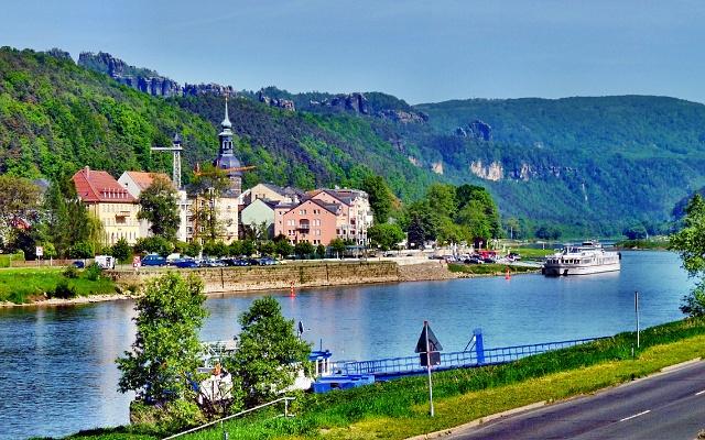 Vyhlidky nad Bad Schandau